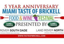 Brickell Food & Wine Festival presented by Land Rover North & South Dade