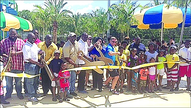 New Family Aquatic Center at West Perrine Park opens