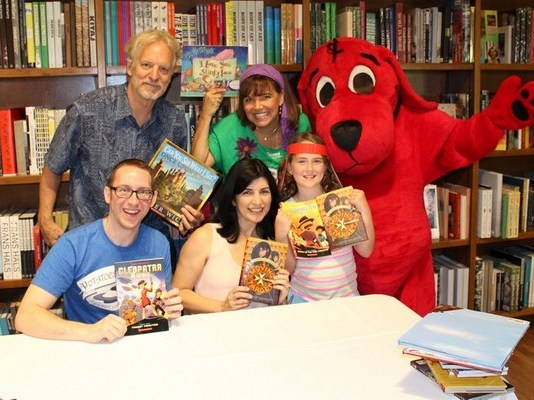 Scholastic Summer Reading Road Trip visits Gables Books & Books