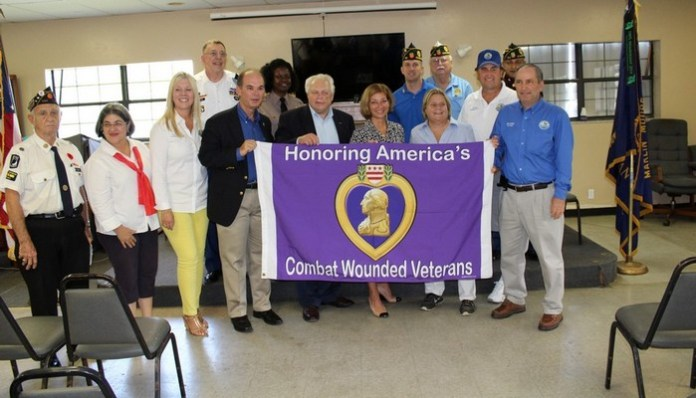 Village honors recipients of Purple Heart medal