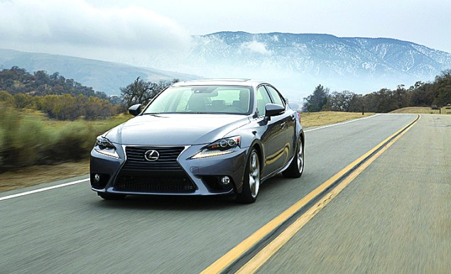 2016 Lexus IS sport sedan line adds turbo gas engine