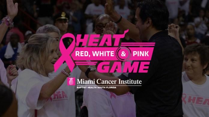 miami heat pink game