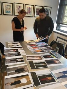 frost-art-museum-fiu-director-dr-jordana-pomeroy-with-narciso-rodriguez-in-his-ny-studio-300x400