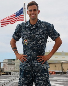 Miami native serves aboard U.S. Navy guided-missile destroyer