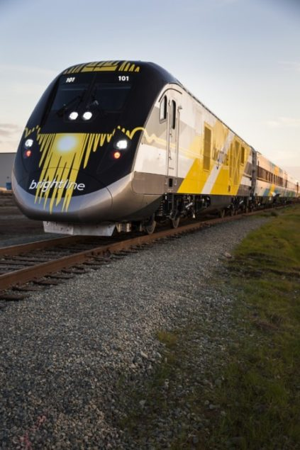 Siemens completes Brightline's first trainset for testing in Florida