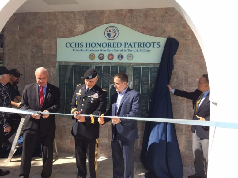 CCHS Patriot Plaza honors alumni who served in the armed forces