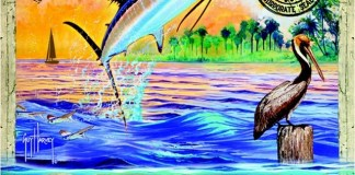 Coconut Grove Arts Festival selects Guy Harvey as artist of 2017 poster