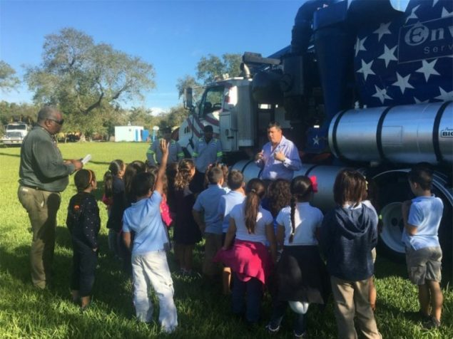 Town's 'Truck and Career Day' teaches environmental lessons