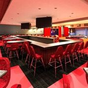 Enjoy crafty cocktails at the full-service upscale lounge and in private dining spaces at Kings Bowl.