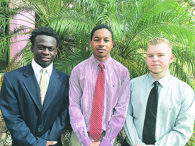 Three Miami Job Corps students visit State Capitol to advocate for youth