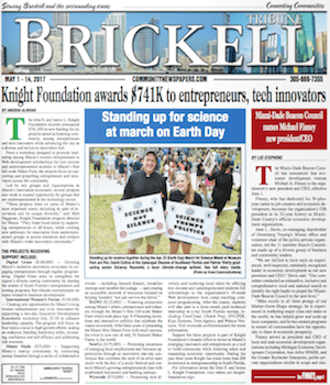 Brickell Florida Newspaper
