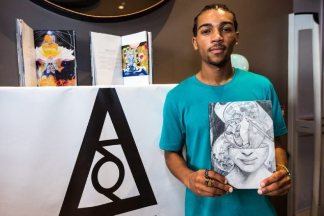 Author's first book a reflection of what was going through his mind
