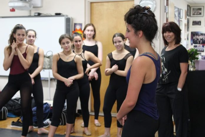 Natalie Caruncho '04 is the associate choreographer and a cast member in the hit Broadway musical On Your Feet!