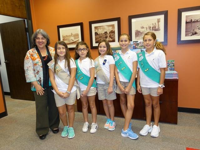 Girl Scouts Troop 713 helps community get clean water