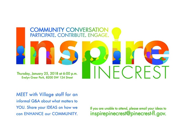 Village seeks input from residents with 'Community Conversation'
