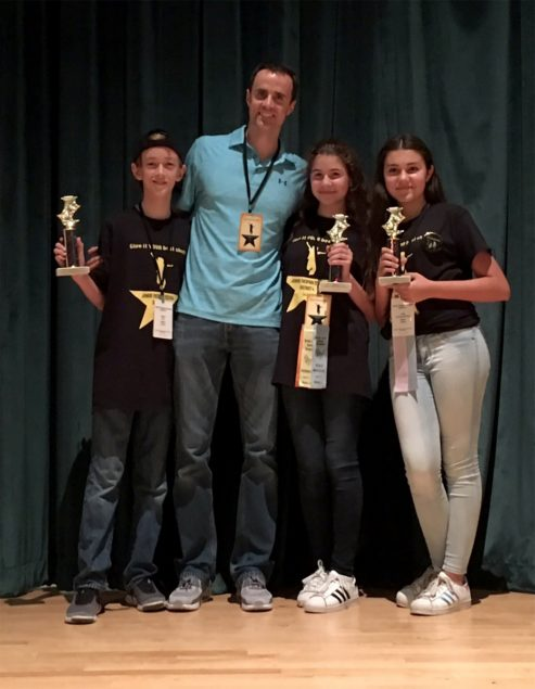 Palmer Trinity School Junior Thespian Troupe qualifies for state competitions