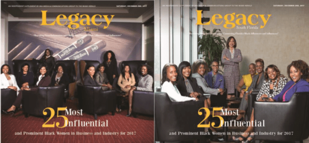 Legacy salutes the region's most influential and prominent Black women in South Florida.