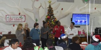 Miami Bridge Youth & Family Services celebrates its annual holiday luncheon