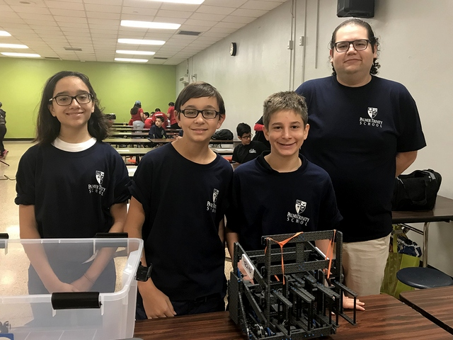 Palmer Trinity Middle School robotics team earns No.1 ranking in Florida