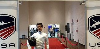 Palmer Trinity student competes in 2018 Junior Olympic Fencing Championships
