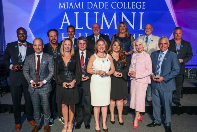 Miami Dade College Foundation breaks records at Alumni Hall of Fame event