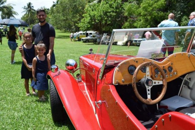 'Cars and Cigars' roll along during event at The Barnacle