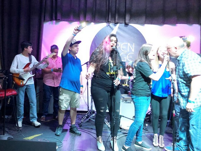 Local bands get together for Rock Sarcoma Out Concert