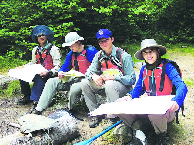 Pinecrest Boy Scouts Paddle the Boundary Waters