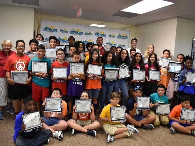 Town's STEM Summer Camp hosts Robotics Exhibition