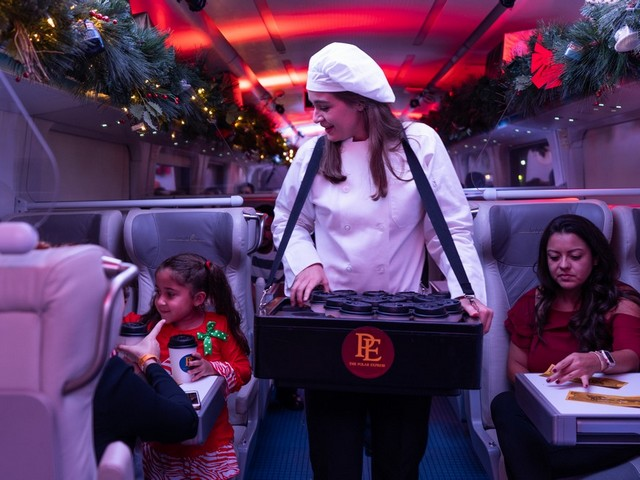 The magic of holidays comes to life on Brightline's The Polar Express