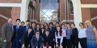 Palmer Trinity students participate in Model United Nations Conference