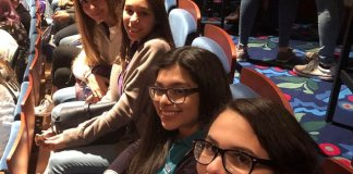 Cutler Bay High School students attend performance of Hamilton