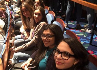 Cutler Bay High School students attend performance of Hamilton