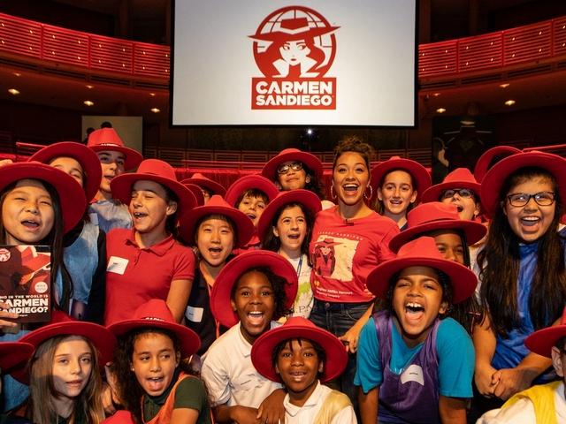 Iconic globetrotting Carmen Sandiego returns to educate a new generation
