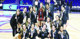 Divine Savior Academy Volleyball Team brings home state championship