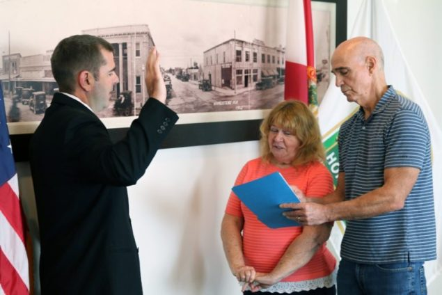 Stephen R. Shelley sworn in as new City of Homestead mayor