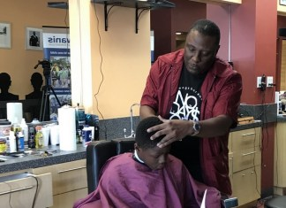 Biscayne Bay Kiwanis Club launches unique Barbershop Reading Program