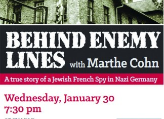 Chabad of Kendall hosting Marthe Cohn event