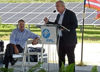 FPL celebrates new solar energy center