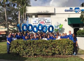 Dental Care Group reaches $1 million mark in donated services with their 'Dentistry From Our Hearts'