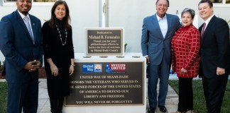 United Way Mission United honors Mike B. Fernández for his service