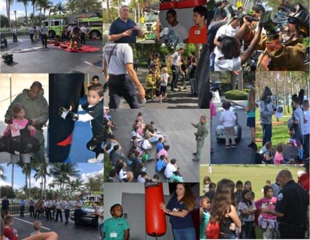 Take Your Child to Work Day celebrated with Aventura Police Dept.