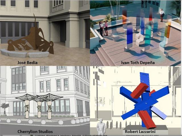 Public comment sought on four art proposals for Public Safety Building