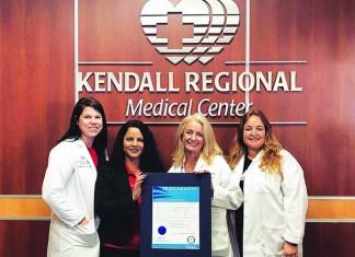 Kendall Regional Burn Center recognized for National Burn Awareness Week