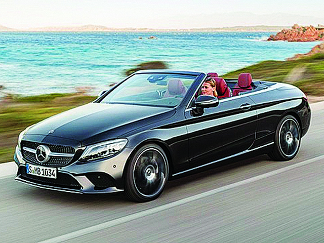 Refreshed C300 Cabriolet subtle luxury you can use every day