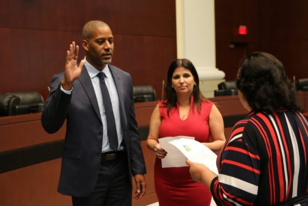 City of Homestead swears in new council member