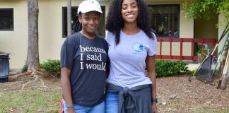 Philanthropist hosts grounds beautification at Miami Bridge