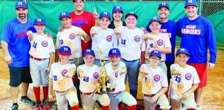 Rangers Win Pinecrest Tournament