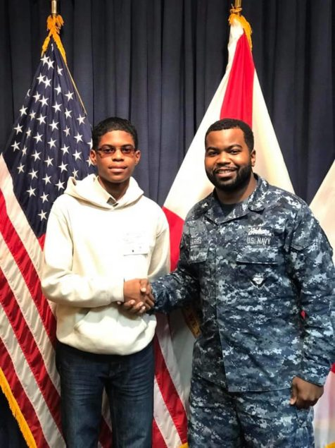 MJCC student Tyler Forney gets diploma, joins U.S. Navy