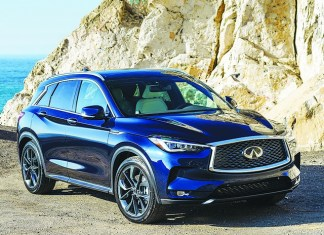 Infiniti rolls out QX50 with new look and features